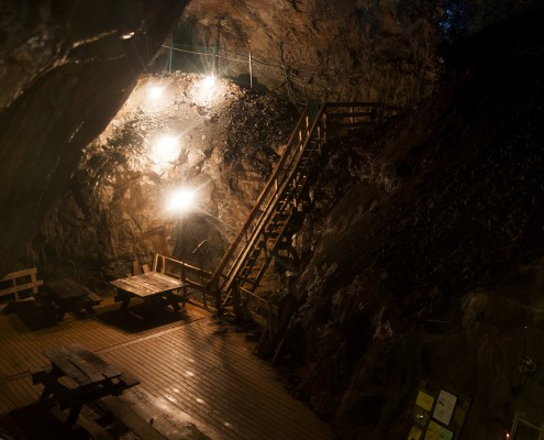 Kleva gruva - malmkyrkan